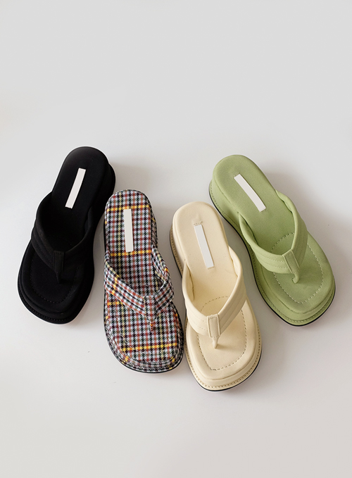Season flip-flop sandal (4colors)